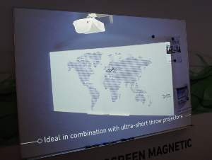 Dry Erase Screen von Projecta