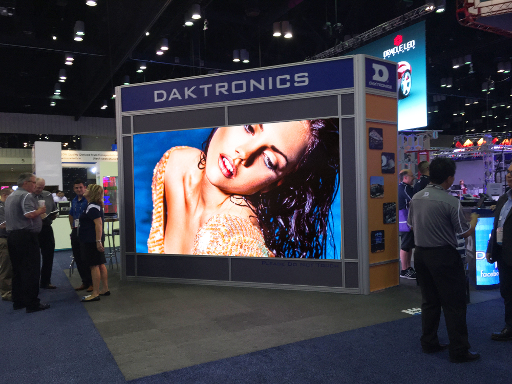 Daktronics 1.9 mm Display