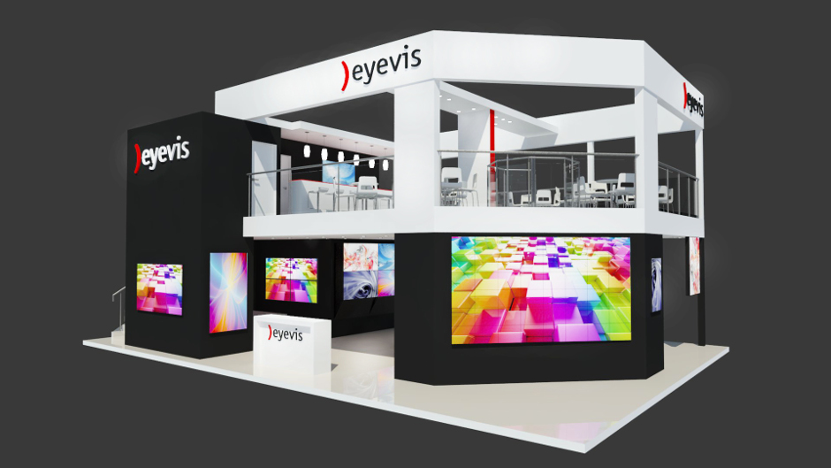 eyevis Messestand ISE