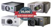 20.000 Stunden Garantie auf Laser-Phosphor Projektoren