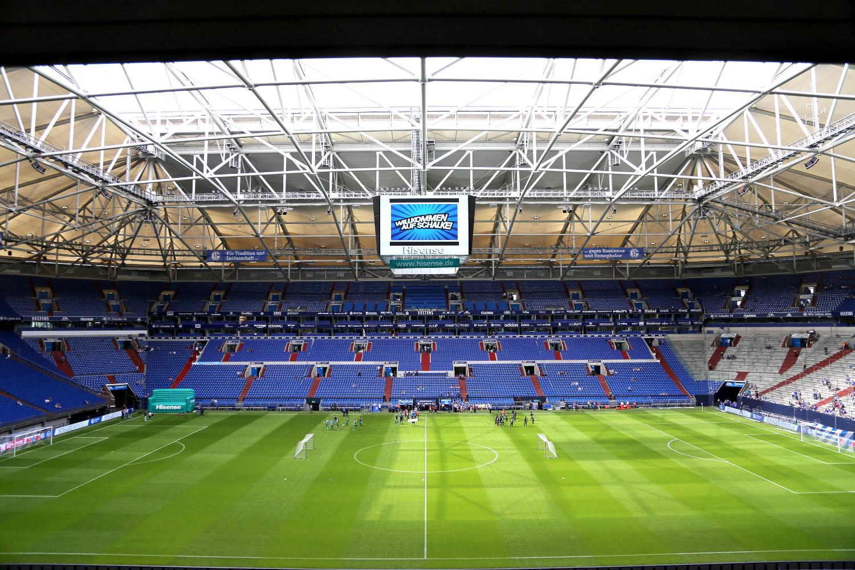 Hisense Videowürfel in der Schalke-Arena