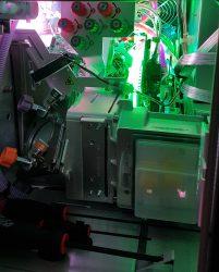 Innenansichten eines Laserprojektors